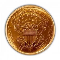1 Oz Morgan Dollar Copper Round
