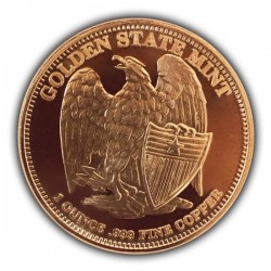 1 Oz Indian Head Copper Round