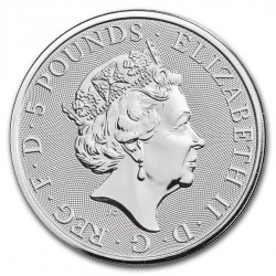 2019 2 Oz UK Queen's Beasts (The Falcon)