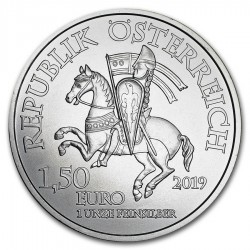 2019 1 Oz Austrian 825Th Anniversary Wiener Neustadt Silver