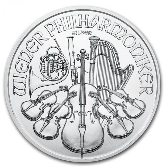20 x 2021 1 Oz Austrian Vienna Philharmonic