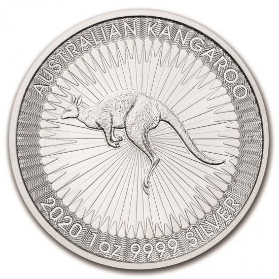 2020 1 Oz Australian Silver Kangaroo
