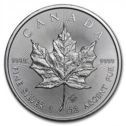 2021 1 Oz Canadian Maple Leaf