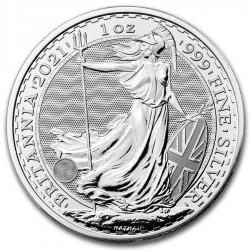 2021 1 Oz UK Silver Britannia