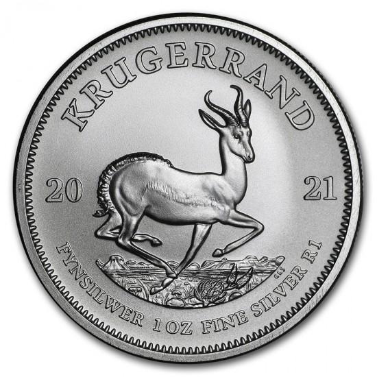 2021 1 Oz South Africa Silver Krugerrand
