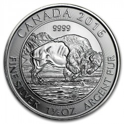 2016 1.25 Oz Canadian Bison