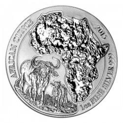2015 1 Oz Rwanda African Buffalo