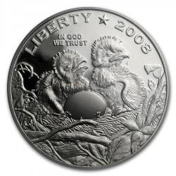 2008-s 1/2 Dollar Bald Eagle Clad Commem PR69 PCGS