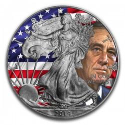 2014 1 Oz Antique Cold War American Eagle