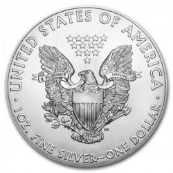 2015 1 Oz Pennsylvania Flag American Eagle Gilded