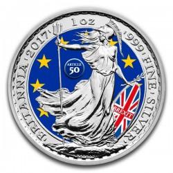 2017 1 Oz UK Silver Britannia Brexit