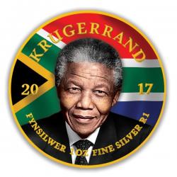 2017 1 Oz Krugerrand Nelson Mandela