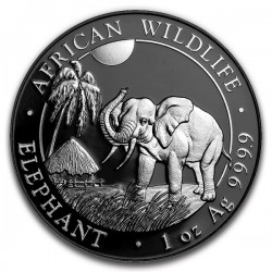 2017 1 Oz Enigma African Elephant