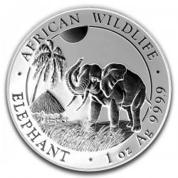 2017 1 Oz Shadows African Elephant