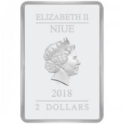 2018 1 Oz Niue Ocampo Good And Bad Silver Coinbar