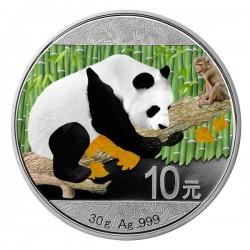 2016 30g Monkey Chinese Panda Colorized