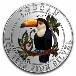 2018 1 Oz Niue Brazilian Toucan Colorized