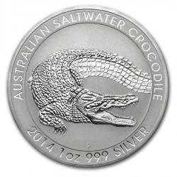 2014 1 Oz Australian Saltwater Crocodile