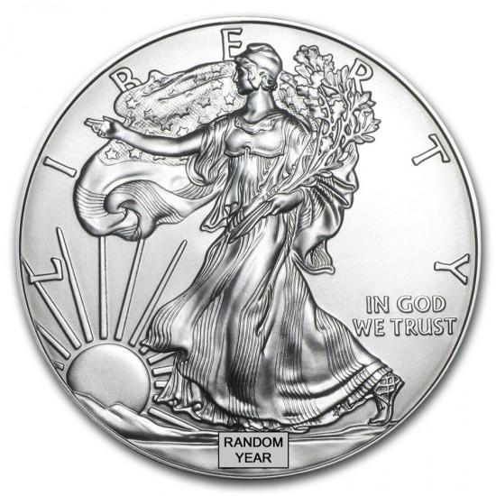 500 x 1 Oz American Silver Eagle (Random Year)