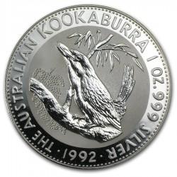 1992 1 Oz Australian Kookaburra