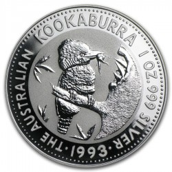 1993 1 Oz Australian Kookaburra