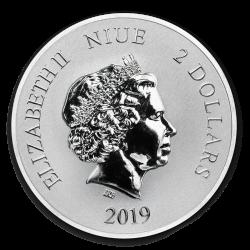 2019 1 Oz Niue Lion King 25th Anniversary