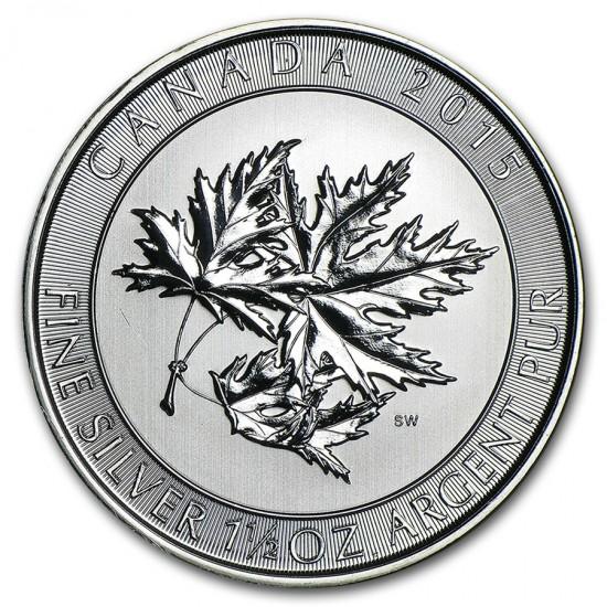 2015 1.5 Oz Canadian Multi-Maple Leaf