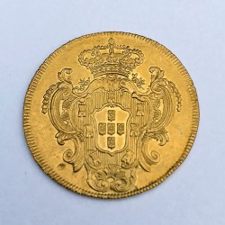 1778 Brazil Gold 6400 Reis (Bahia)