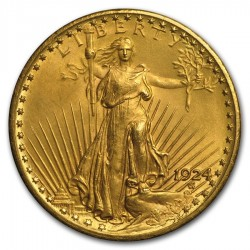 1924 St. Gaudens Twenty Dollars Gold