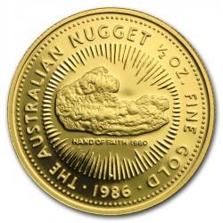 1986 1/2 Oz Australian Proof Gold Nugget