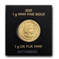 2021 1g Gold Maple Leaf (in Assay)