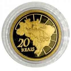 2000 500 Anos do Descobrimento Ouro