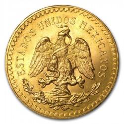 Mexico Gold 50 Pesos (Random Year)