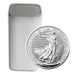 25 x 2021 1 Oz UK Silver Britannia